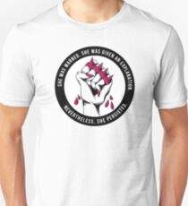 Nevertheless She Persisted II Unisex T-Shirt