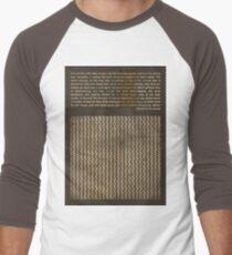 Theodore Roosevelt Men's Baseball ¾ T-Shirt