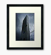 Cardiff Bay Fountain (Torchwood) Framed Print