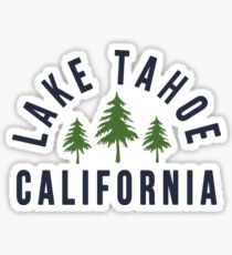 Lake Tahoe California Sticker
