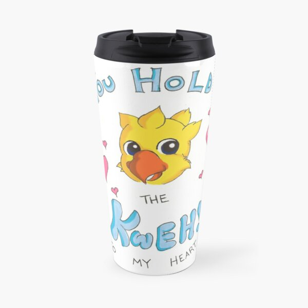 You Hold The Kweh To My Heart! Travel Mug
