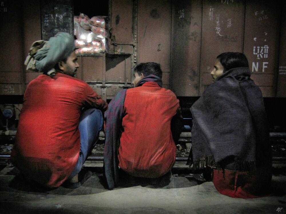Agra Station by Paul Vanzella