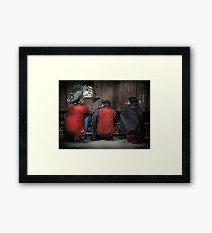 Agra Station Framed Print
