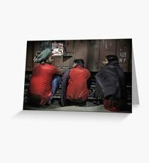 Agra Station Greeting Card