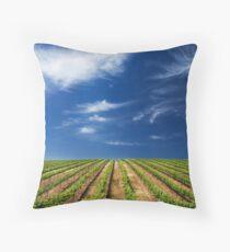 Vineway to Heaven Throw Pillow