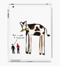 Tall Cow iPad Case/Skin