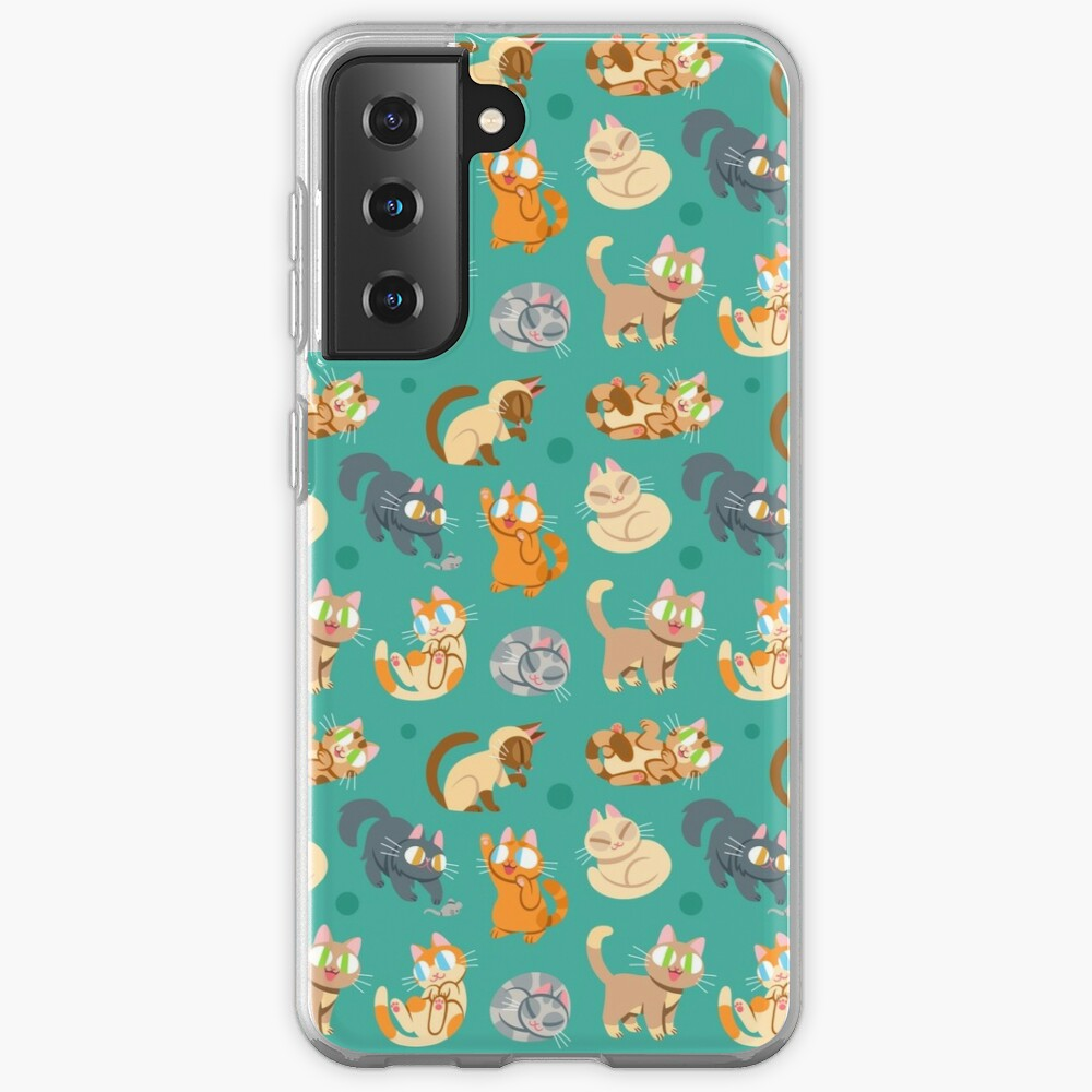 Whole Lotta Cat (Natural version) Case & Skin for Samsung Galaxy