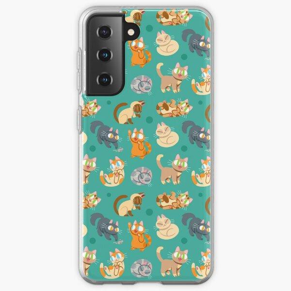 Whole Lotta Cat (Natural version) Samsung Galaxy Soft Case