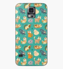 Funda/vinilo para Samsung Galaxy Whole Lotta Cat (Versión natural)
