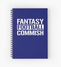 Fantasy Football Commish Spiral Notebook