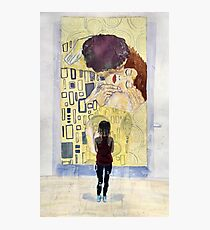 Klimt ft. Grace Photographic Print