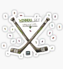 Winners get sprinkles Sticker