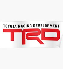 TRD : Toyota Racing Development Poster