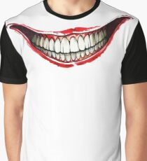 Bloody Smile Graphic T-Shirt