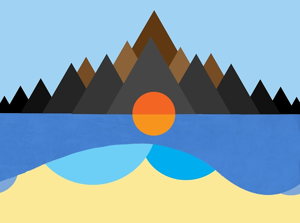 Kauai Stn Mtn Cover Design By Louis Malouf Redbubble