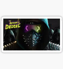 Wrench- The Return of DedSec!! Sticker