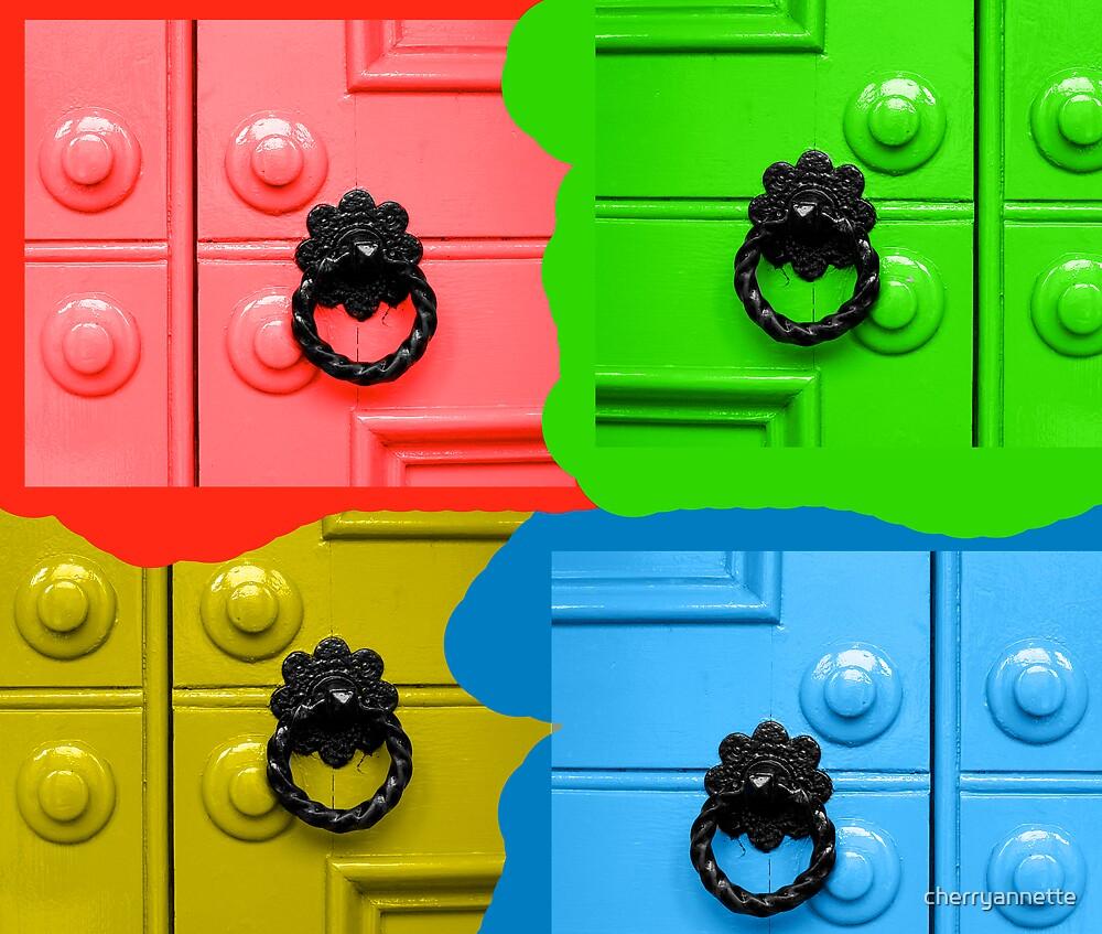 Painted doors by cherryannette