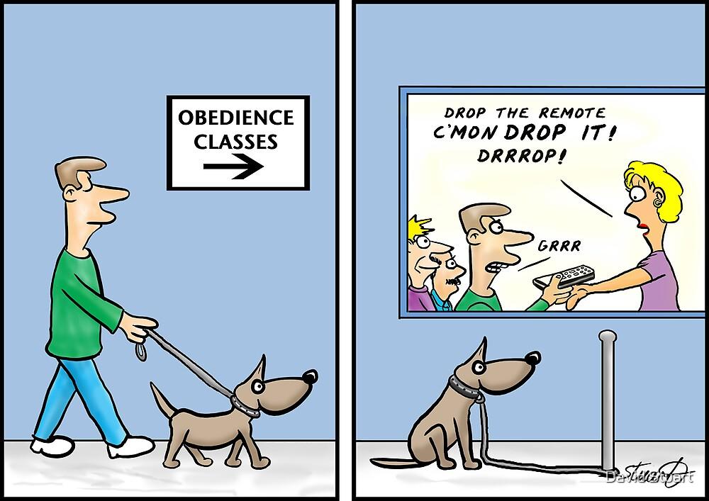 obedience training  by David Stuart