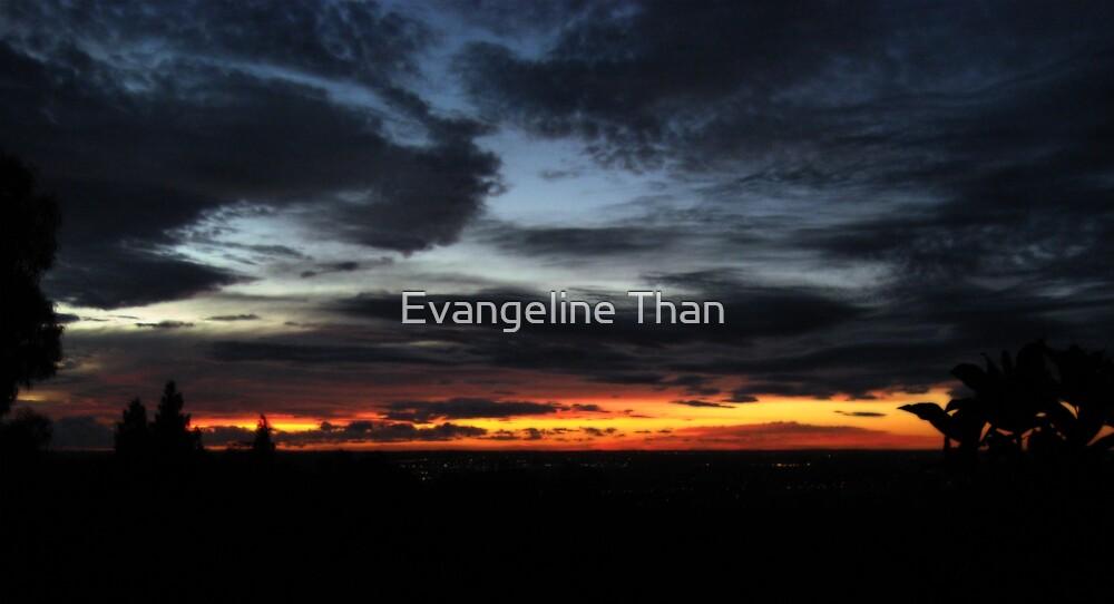 Kalamunda Sunset by Evangeline Than