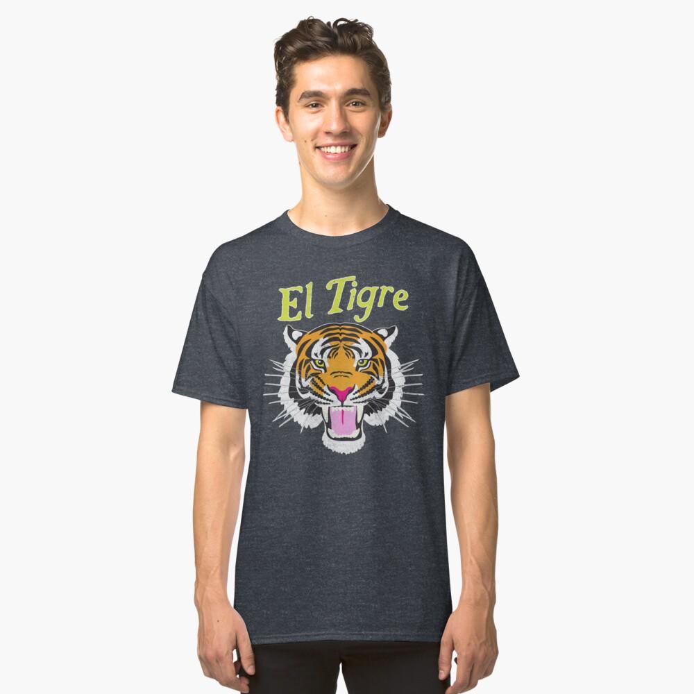El Tigre Classic T-Shirt Front