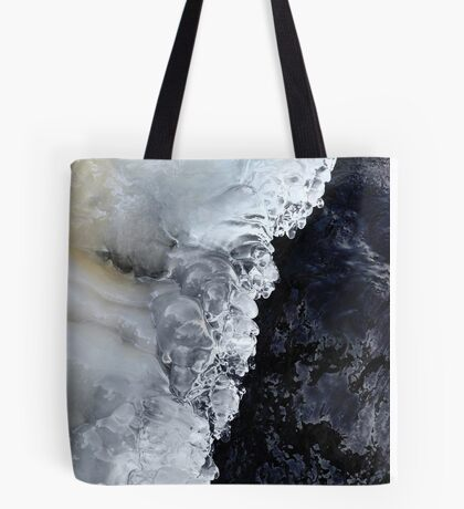 8.2.2017: Natural Ice and Wet Stone Tote Bag