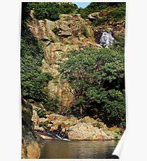 The Hidden Waterfall IV - Hong Kong. Poster