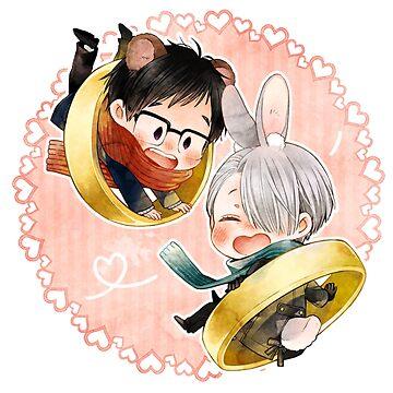 yuuri and victor by over1000ninjas