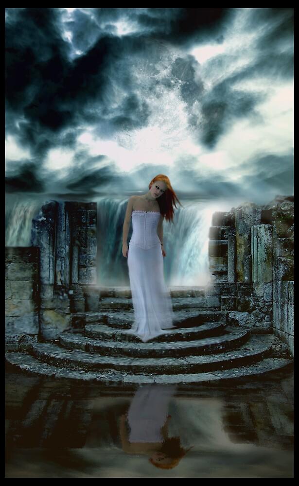 Moon falls by Cliff Vestergaard