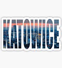 Katowice Sticker