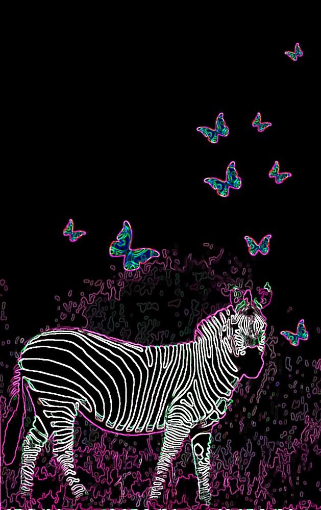 Electro Zebra by Alana Hodgins