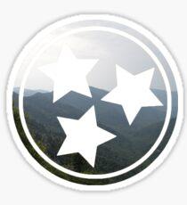 Mountain Tristar Sticker