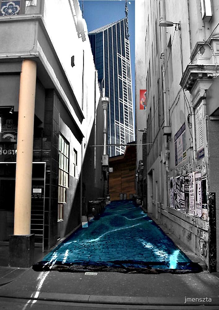 Flooding laneway by jmenszta