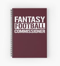 Fantasy Football Commissioner Spiral Notebook