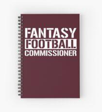 Cuaderno de espiral Comisario de Fantasy Football