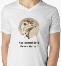 Kluger kleiner Jungstrauss Men's V-Neck T-Shirt