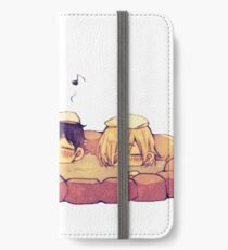 yuri on ice hotspring  iPhone Wallet