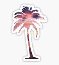 Tropical Sunrise Sticker