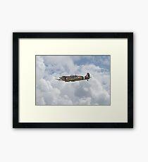 Spitfire - US Eagle Squadron Framed Print