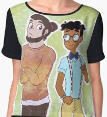 Baljeet and Buford, Hipsters! Women's Chiffon Top