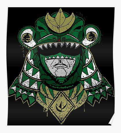 Green Shogun Ranger Poster