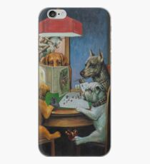 Dogs Playing D&D iPhone Case