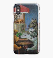 Dogs Playing D&D iPhone Case/Skin