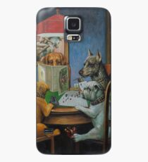Dogs Playing D&D Case/Skin for Samsung Galaxy