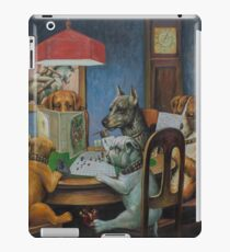 Dogs Playing D&D iPad Case/Skin