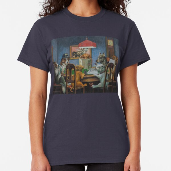 Dogs Playing D&D Classic T-Shirt