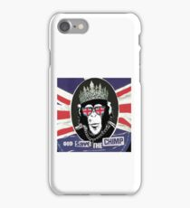God Save The CoolChimp iPhone Case/Skin