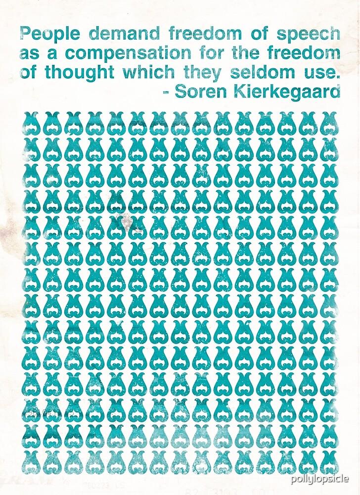 Kierkegaard by pollylopsicle