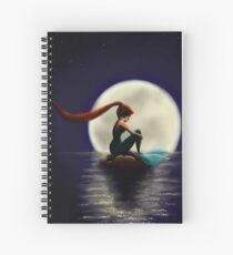 The mermaid and the moon Spiralblock