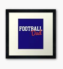 Football Dad Framed Print