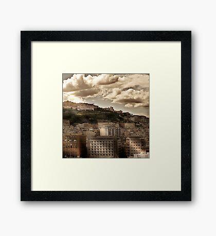 Naples Hills Framed Print